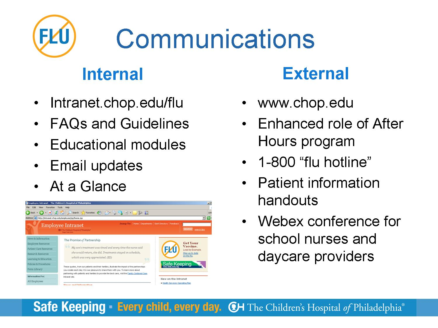 CHOP Case Study   PA Health Care Workers - Universal Flu